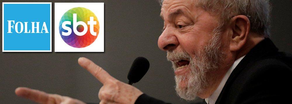 """""""Num país onde a lei não proíbe entrevistas de cidadãos encarcerados, a Folha, SBT e demais veículos de mídia têm o dever convidar Lula para dar entrevistas e depoimentos em programas e reportagens sobre as eleições presidenciais, exatamente como faz com Boulos e Ciro, Alckmin e Manuela"""", escreve o colunista do 247 Paulo Moreira Leite; PML lembra que, no momento atual da campanha, """"Lula é um pré-candidato como qualquer outro, e assim irá permanecer até submeter seu nome a Justiça Eleitoral e não pode ser discriminado""""; articulista lembra que, com base na Lei de Execução Penal, ainda do tempo da ditadura, vez por os jornais e emissoras de TV exibem reportagens e entrevistas de prisioneiros"""