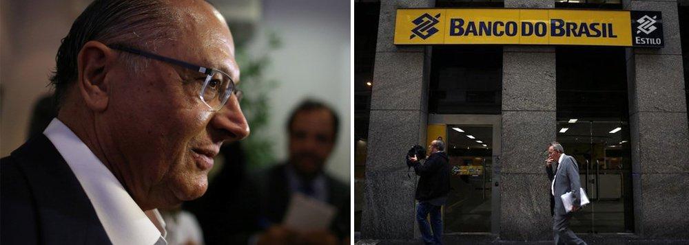 """O economista José Roberto de Barros, que coordena o programa de governo de Alckmin em parceria com Persio Arida disse que os bancos públicos, como o Banco do Brasil e a Caixa Econômica podem ser privatizados se o ex-governador for eleito presidente; """"Podem, mas não necessariamente devem"""" disse ele"""
