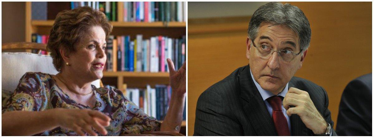 """Segundo a presidente deposta pelo golpe, Dilma Rousseff, tucanos de Minas, estado governado por Fernando Pimentel, """"sabotam e bloqueiam"""" as iniciativas contra a crise """"herdada dos governos Aécio e Anastasia""""; Dilma citou """"o deputado aecista Gustavo Valadares"""", que foi à justiça para proibir o executivo estadual de contrair um empréstimo de R$ 3 bilhões; """"O povo mineiro vai mostrar que sabe muito bem quem defende seus interesses e quem desrespeita a democracia"""""""