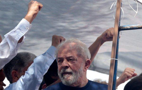 Ex-presidente Luiz Inácio Lula da Silva em São Bernardo do Campo 07/04/2018