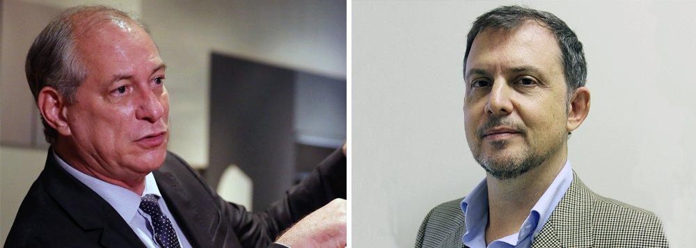 O economista Nelson Marconi, que elabora o programa econômico de Ciro Gomes, publicou nota em seu facebook para esclarecer que não há a intenção de privatizar refinarias da Petrobras; a agência de notícias informou, após entrevista com Marconi, que o economista defenderia a alienação de ativos da Petrobras – o que ele agora nega