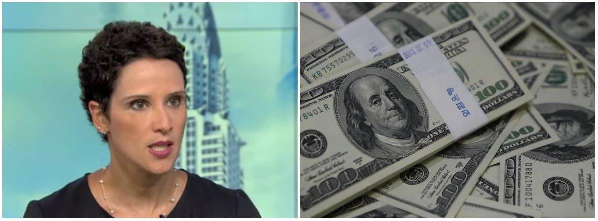 """Economistaultraliberal que combateu os governos do PT, apoiou o golpe contra Dilma e a política econômica do governo Michel Temer, Monica de Bolle avalia que a recente desvalorização do real é uma """"reação retardada"""" do mercado ao reconhecimento de que a recuperação brasileira não é tão sólida quanto aparentava"""