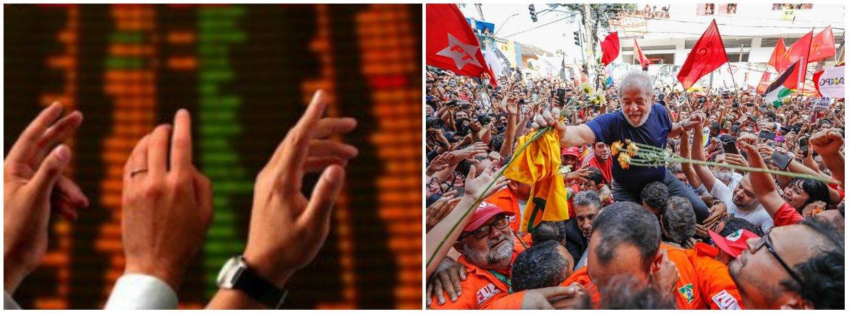 """""""Quem prendeu e mantém Lula preso foi o mercado"""", diz o cientista político Robson Sávio Reis Souza; """"Lula, apesar de não ter governado contra o mercado, se tornou uma ameaça depois que ficou escancarado que o mercado é o grande beneficiário do golpe e, nesse contexto, resolveu mudar seu discurso de 'Lulinha paz e amor', prometendo enfrentar mazelas estruturais caso seja eleito novamente"""""""