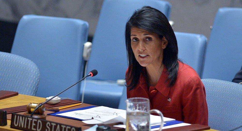 embaixadora Nikki Haley