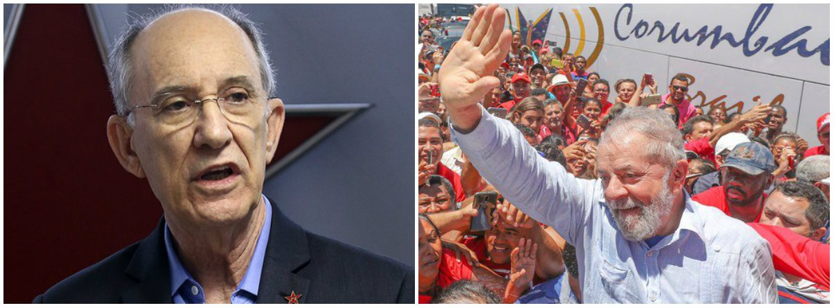 """O ex-presidente nacional do PT Rui Falcão repercutiu a pesquisa Datafolha, divulgada neste domingo (17), segundo a qual 62% dos jovensiriam embora do Brasil - são 19 milhões; """"Com Lula, vamos devolver a esperança ao povo e aos jovens que pensam em deixar o País"""""""