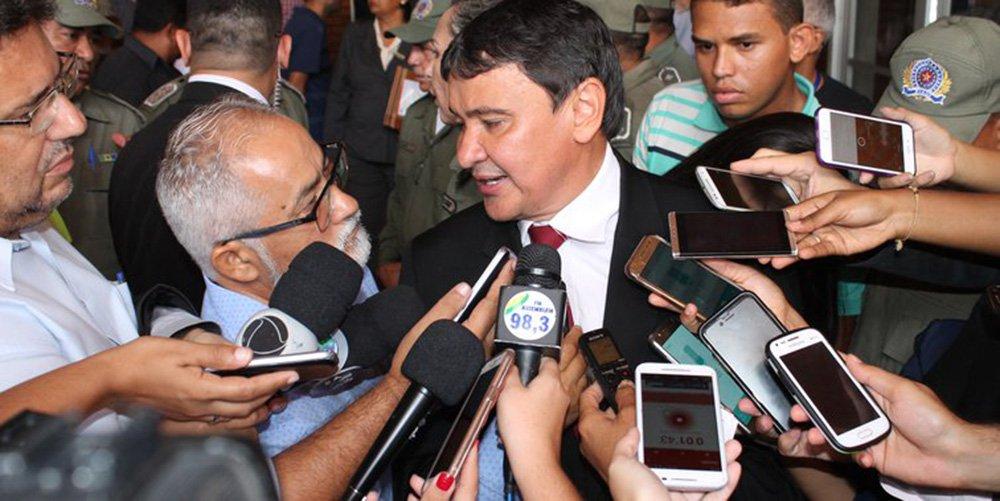 """O Piauí foi um dos estados que recorreu ao STF para obrigar o governo a repassar recursos referentes a 20% da parcela relativa à Desvinculação das Receitas da União (DRU); valores devidos para chegam a R$ 21 bilhões, em relação a 2017; """"está asfixiando os Estados e Municípios com bloqueio de recursos do FPE e FPM e com aplicação inconstitucional da DRU"""", diz o governador Wellington Dias"""