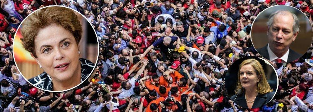"""Nova arbitrariedade contra o ex-presidente Lula; a juíza Carolina Lebbos negou nesta tarde os pedidos de visita ao ex-presidente, entre eles o da presidente legítima Dilma Rousseff; magistrada também não autorizou a ida de uma comissão de deputados para vistoriar a Superintendência da PF em Curitiba, onde Lula é mantido como preso político há 16 dias; para Carolina, """"o alargamento das possibilidades de visitas a um detento, ante as necessidades logísticas demandadas, poderia prejudicar as medidas necessárias à garantia do direito de visitação dos demais""""; presidenciável Ciro Gomes (PDT) e o presidente de seu partido, o ex-ministro Carlos Lupi, também tiveram negados os pedidos de visita"""