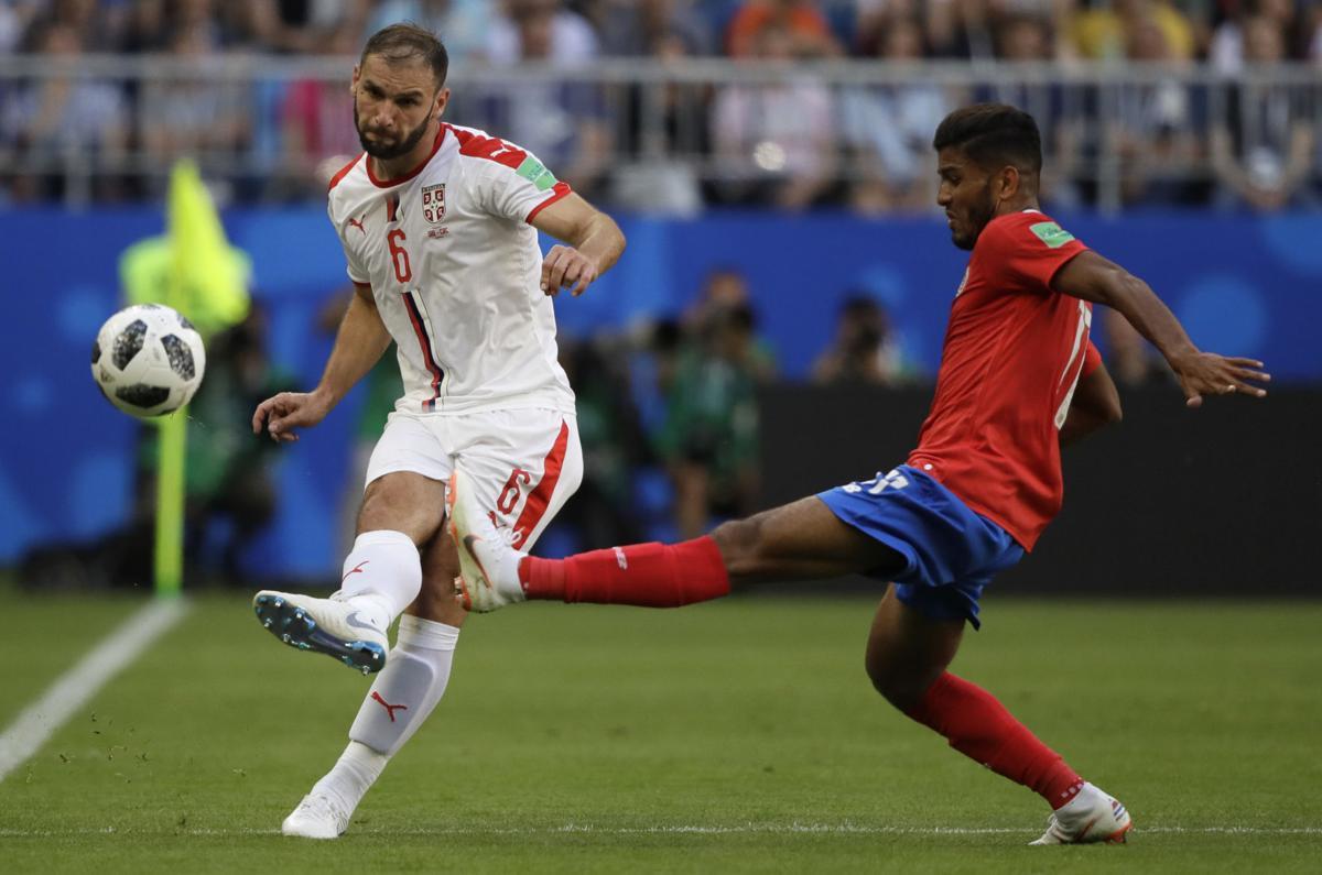 Sérvia vence a Costa Rica por 1x0 na primeira fase da copa do Mundo na Rússia