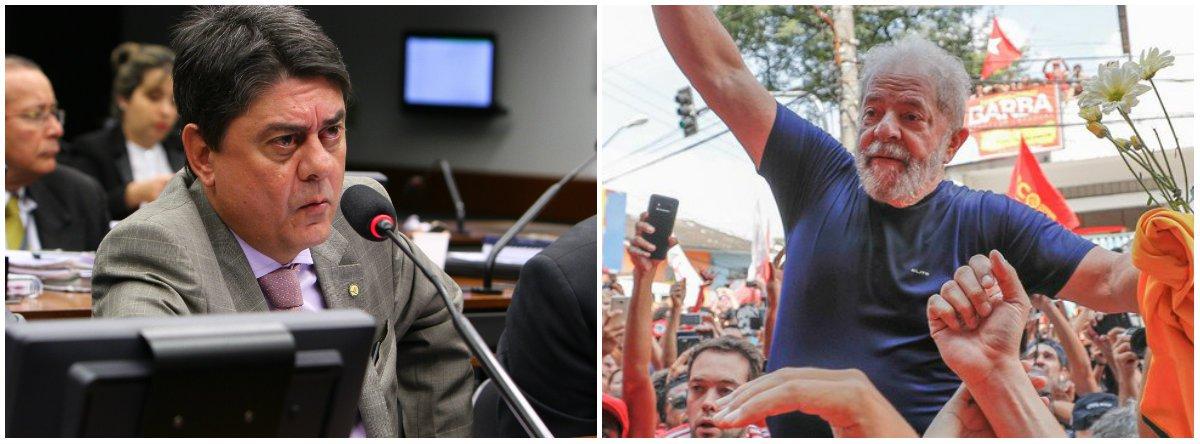 """Deputado Wadih Damous (PT-RJ) manifestou seu otimismo com a pré-candidatura do ex-presidente Lula ao Planalto;""""Lula sabe que, se ele não for candidato, ele está solto no dia seguinte. E ele já devolveu o recado: ele paga o preço à liberdade, mas será candidato. Lula vai concorrer e vai ganhar. Também temos essas certezas"""""""