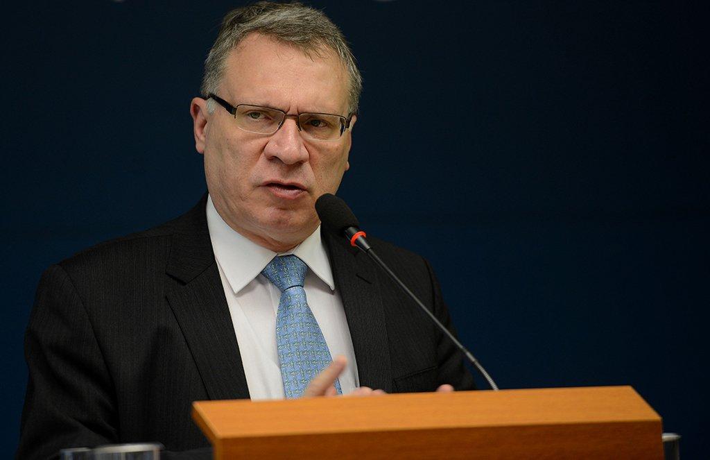 Brasília - O ministro da Justiça, Eugênio Aragão, durante divulgação do relatório sobre refúgio no Brasil (Elza Fiuza /Agência Brasil)