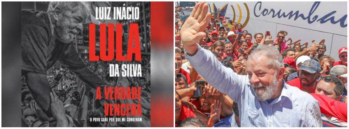 Lula disse: – o preço que vai ser pago historicamente é a mentira contada agora. A Polícia Federal mentiu na denúncia, e o Moro sabia que não era verdades e aceitou e transformou as mentiras num processo que me condenou