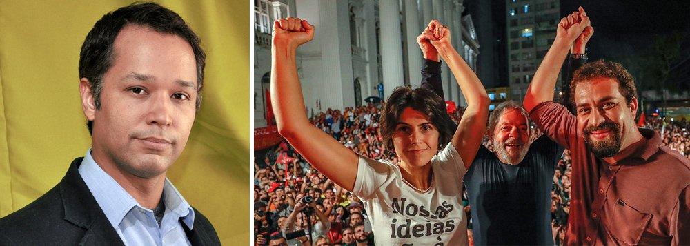 """O apresentador Leonardo Stoppa refirma que eleição sem o ex-presidente Lula é fraude; """"Não existe a possibilidade de justiça social sem um processo eleitoral limpo. Qualquer pessoa que seja eleita no contexto de golpe continuará sendo golpista. A esquerda não deve legitimar uma fraude"""", ressalta; Assista a íntegra do programa Léo ao Quadrado"""