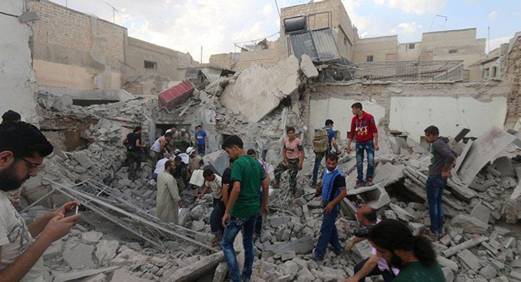 """Os componentes do ataque químico possivelmente foram passados pelos EUA com a Turquia e MOSSAD de Israel para criar um fato político """"guerra das versões"""""""