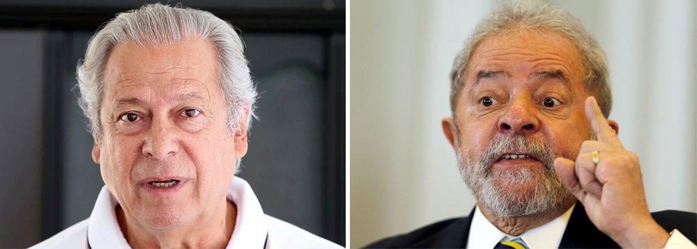 """Para terem direito a progressão de pena – de regime fechado para semiaberto e depois aberto – Dirceu terá de pagar R$ 11 milhões a título de """"ressarcimento ao erário"""" e Lula, R$ 16 milhões, determinou Sérgio Moro, sem explicar os motivos da multa milionária"""
