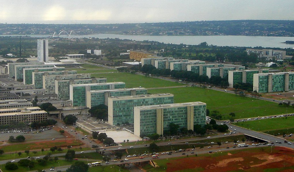 Esplanada dos Ministerios, Brasilia