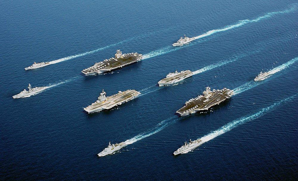 """Com o pretexto de enfrentar a """"estratégia de guerra"""" da Rússia, EUA reforçam suas posições militares no mar Mediterrâneo"""