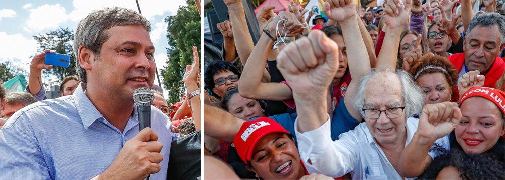 """""""Se eles achavam que iam matar o Lula, estão transformando o Lula num mito"""", acredita Lindbergh Farias, líder do PT no Senado, em declaração à TV 247; """"Essa prisão deu a chave que pode levar a esquerda à vitória na eleição de 2018"""", avalia; Lindbergh acredita que a decisão da juíza da 12ª Vara da Justiça Federal do Paraná de impedir a vista do Prêmio Nobel da Paz Adolfo Pérez Esquivel """"é uma barbaridade""""; """"A repercussão disso no mundo inteiro vai ser gigantesca. Eles estão se complicando"""", prevê; assista à entrevista"""