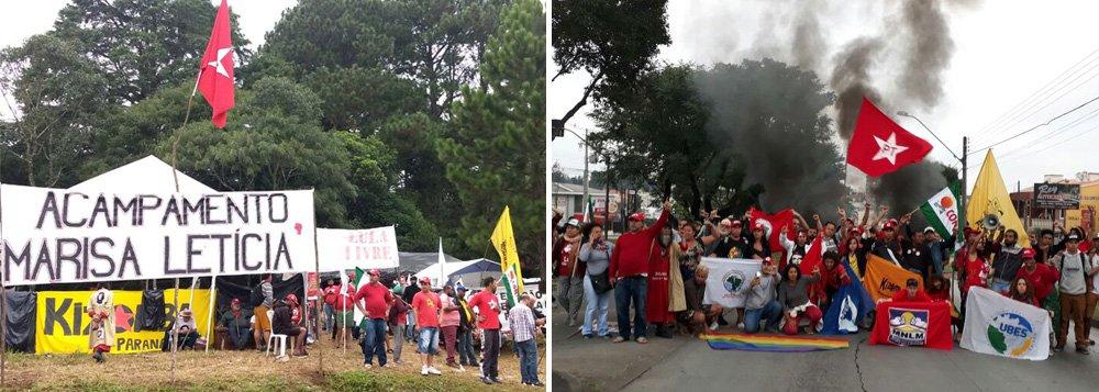 """Atacado a tiros na madrugada deste sábado 28, o acampamento Marisa Letícia, formado por diversos movimentos sociais em defesa da liberdade do ex-presidente Lula, divulgou uma nota repudiando a violência, que deixou duas pessoas feridas, uma em estado grave. """"A sorte de não ter havido vítimas fatais não diminui o fato da tentativa de homicídio, motivada pelo ódio e provocação de quem não aceita que a vigília é pacífica, alcança três semanas e vai receber um Primeiro de Maio com presença massiva em Curitiba. Não nos intimidarão!"""", diz trecho do texto"""