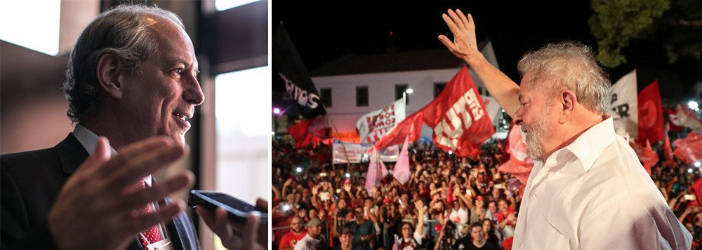 """Mantido como preso político desde o dia 7 de abril na superintendência da Polícia Federal em Curitiba, o ex-presidente Lula manifestou a vontade de receber a visita do ex-ministro Ciro Gomes, pré-candidato do PDT à Presidência; no início da semana, Ciro declarou que quer visitar Lula não para falar de política, mas como """"velho camarada de mais de 30 anos""""; ao contrário de Manuela D'Ávila e Guilherme Boulos, presidenciáveis do PCdoB e PSOL, Ciro não esteve no Sindicato dos Metalúrgicos, em São Bernardo do Campo (SP), onde Lula passou seus últimos dois dias antes de se entregar à polícia cercado por militantes e aliados"""
