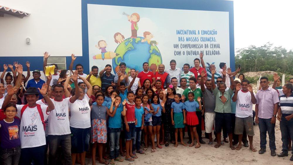 Programa Escola Digna continua e agora beneficia municípios do Mais IDH com mais 12 escolas. Foto: Divulgação