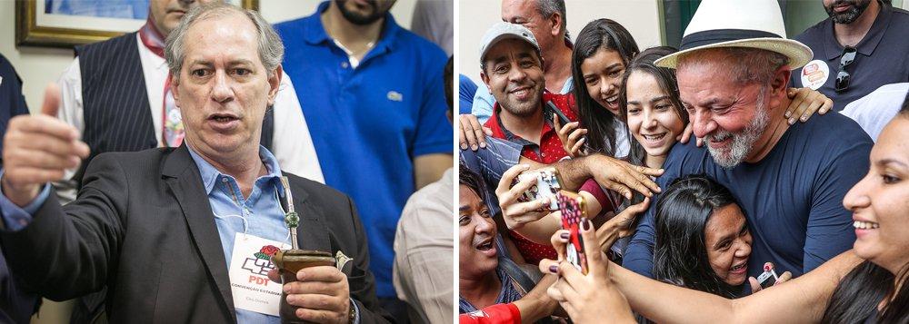 """Pré-candidato à Presidência da República Ciro Gomes (PDT) disse que, após a prisão do Ex-presidente Luiz Inácio Lula da Silva, ele passou a considerado a """"bola da vez desta turma fascista animada com [a candidatura presidencial do deputado federal Jair Bolsonaro -PSL] Bolsonaro. Acham que, com o [ex-presidente Luiz Inácio Inácio Lula da Silva] Lula fora do jogo [eleitoral], o cara sou eu"""""""