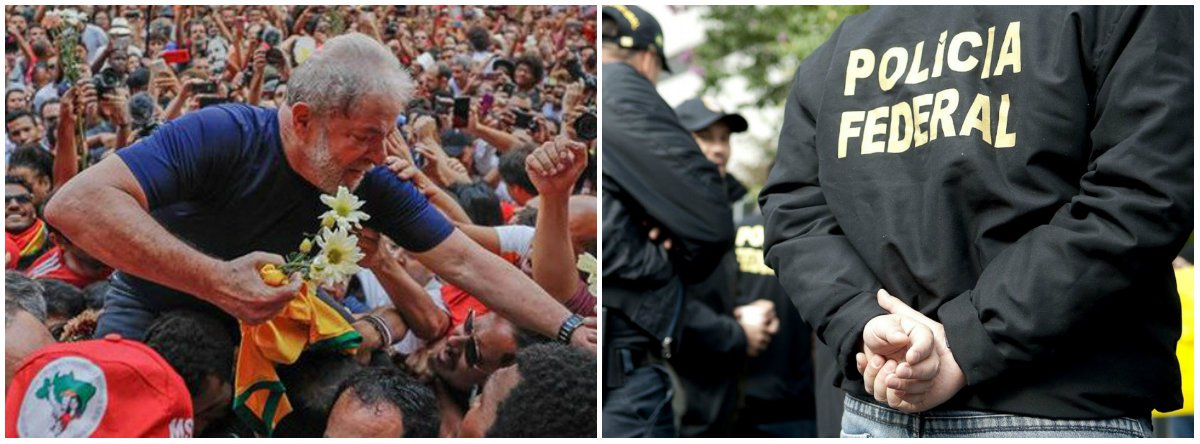 """""""O relatório da Polícia Federal que pretende forçar a remoção de Lula da sede da Polícia Federal alegado que sua detenção custou R$ 150 mil ao longo de 15 dias, ou cerca de R$ 10 mil por dia. Certamente não se gastou R$ 150 mil de quentinhas para Lula. Nem na conta de energia de um simples televisor"""", diz Fernando Brito, do Tijolaço"""