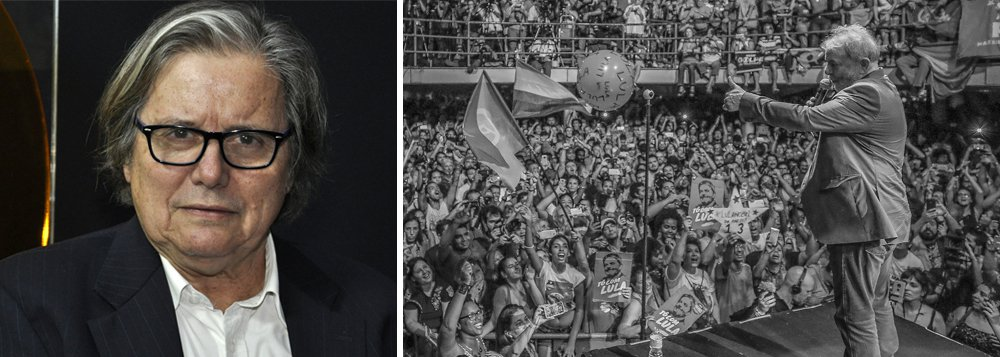"""O jornalista Paulo Moreira Leite aposta na força do ex-presidente Lula para resistir os dias de cárcere; """"Lula tem uma trajetória única, construiu esse vigor através do amor do povo, ele não se sente um prisioneiro qualquer, sabe bem do seu papel na história e isso dá serenidade. Ele transformou-se em ideia"""", ressalta; Assista a íntegra do programa Boa Noite 247"""