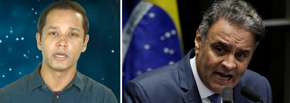 """O apresentador Leonardo Stoppa desconstrói a decisão do Supremo Tribunal Federal (STF) em aceitar a denúncia contra o senador Aécio Neves (PSDB-MG); """"Aécio nunca irá para cadeia, esse processo não irá seguir, mas se avançar, não irão condená-lo, o STF é acovardado e tem medo do poder dos tucanos. O ex governador Eduardo Azeredo (PSDB-MG) ilustra bem a seletividade da justiça""""; Assista a íntegra do programa Léo ao Quadrado"""