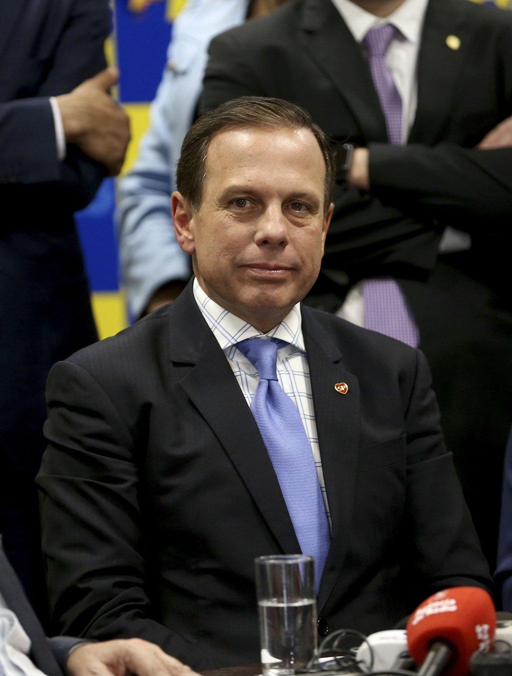 Brasília - A bancada do PSDB na Câmara se reúne com o prefeito de São Paulo, João Doria (Wilson Dias/Agência Brasil)