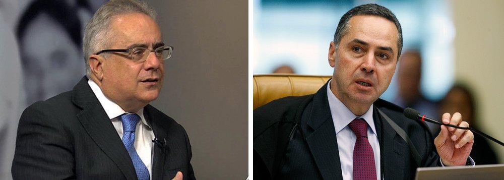 """""""Começa a ficar mais clara a intenção do Ministro Gilmar Mendes quando, no bate-boca com o colega Luis Roberto Barroso, acusou-o de beneficiar seu antigo escritório de advocacia"""", escreve o jornalista, no texto """"Xadrez de como, com jeitinho, Barroso beneficiou o Itau"""""""