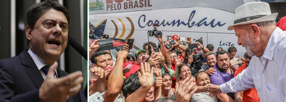 """O deputado Wadih Damous (PT-RJ) anunciou nesta terça-feira (24), em Curitiba, que entrará com ação criminal contra a juíza da Vara de Execuções Penais, Carolina Moura Lebbos, por abuso de autoridade; a magistrada o impediu de visitar o ex-presidente Lula onde ele é mantido na condição de preso político; """"Essa juíza me proibiu de entrar na condição de advogado do presidente Lula"""", disse; Damous disse também que irá impetrar um mandado para assegurar sua prerrogativa de visitar seu cliente"""