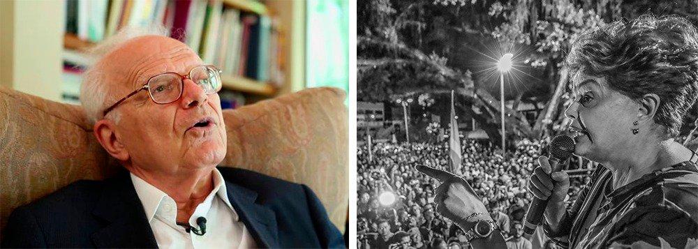 Na semana em que se completam dois anos do golpe que tirou Dilma Rousseff da Presidência da República, foi dada entrada na justiça uma Ação Popular pela anulação do golpe, impetrada por cidadãos brasileiros e assinada pelo jurista Fábio Konder Comparato; mais de 70 mil assinaturas físicas foram coletadas em várias cidades do país e no exterior; uma coletiva de imprensa explicará a ação nesta terça-feira 17 na UnB