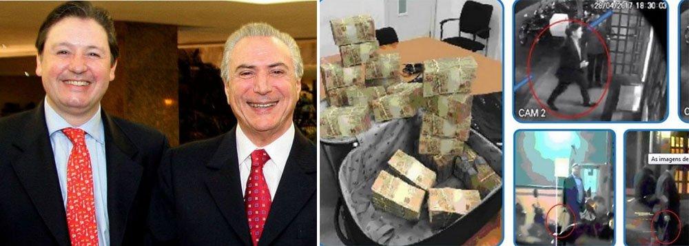 """A defesa do ex-deputado Rodrigo Rocha Loures (MDB-PR), o homem da mala Michel Temer, pediu à Justiça Federal de Brasília que o absolva da acusação de corrupção passiva no episódio em que ele recebeu uma mala com R$ 500 mil de um executivo da JBS; em petição à Justiça de Brasília, Rocha Loures argumentou que ele não sabia que havia dinheiro na mala e que """"muito menos"""" o montante seria para ele"""
