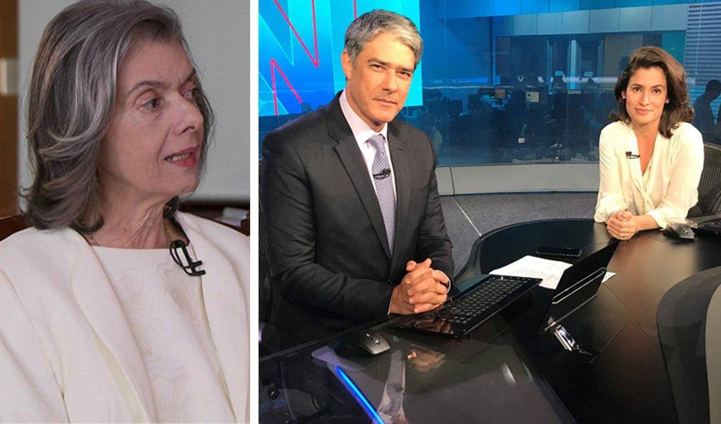 O foco da Globo sobre o STF explica muita coisa: além de refletir a brutal concentração de poder político no judiciário, é também uma maneira da Globo manter os ministros no cabresto