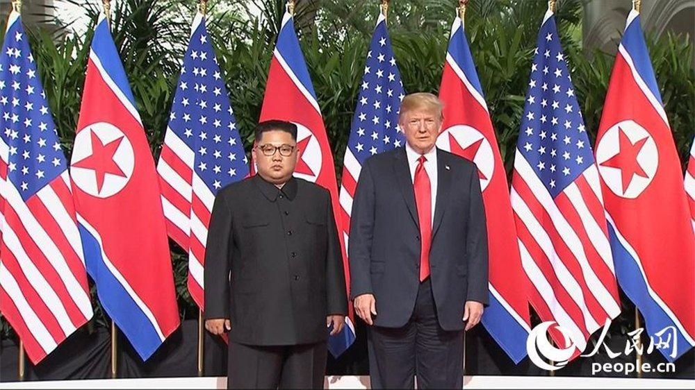 O presidente dos Estados Unidos, Donald Trump, afirmou nesta terça-feira (12), em Cingapura, que os EUA deixarão de fazer exercícios militares com a Coreia do Sul