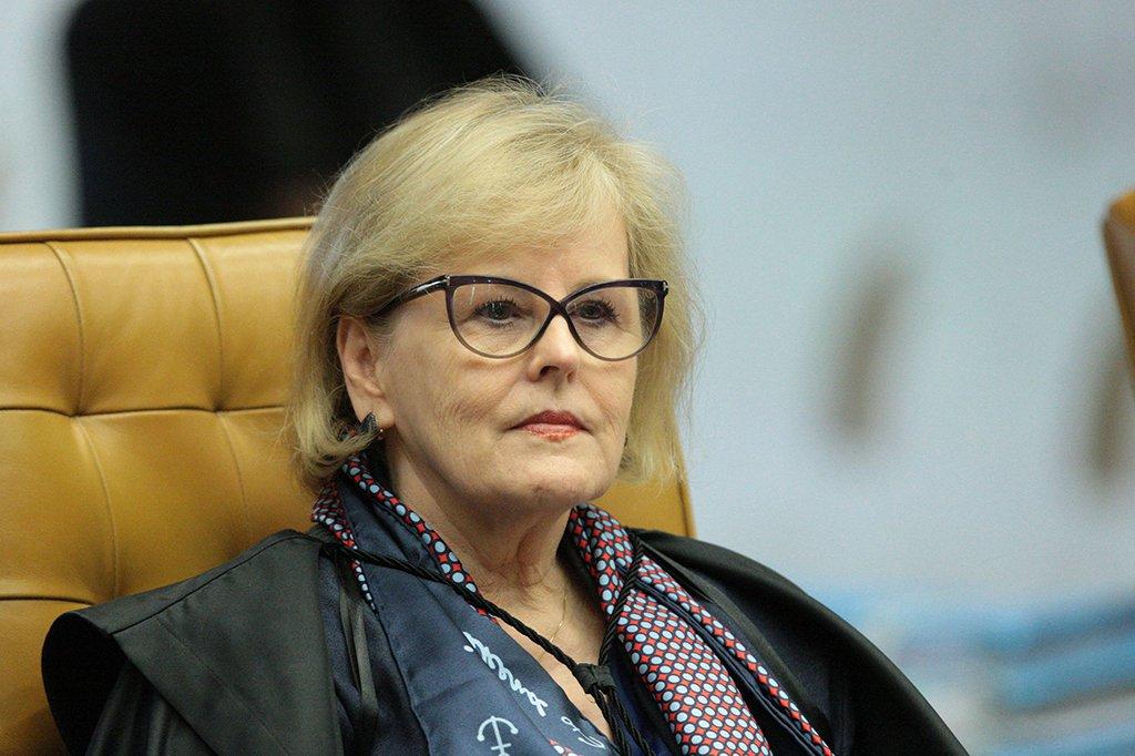 Brasília - Ministra Rosa Weber durante sessão plenário do Supremo Tribunal Federal (STF) para julgamento sobre imunidade de deputados estaduais do Rio (Carlos Moura/SCO/STF)