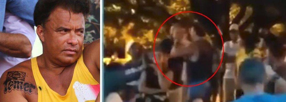 Vídeo que circula nas redes sociais nesta sexta-feira 27 mostra o deputado federalWladimir Costa (SD-PA) agredindo um rapaz na plateia de um evento no interior do Pará, com um soco no rosto; o homem teria questionado sobre a tatuagem que o parlamentar teria feito de Michel Temer; assista
