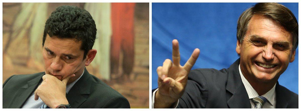 Juiz federal Sérgio Moro e deputado federal Jair Bolsonaro 2