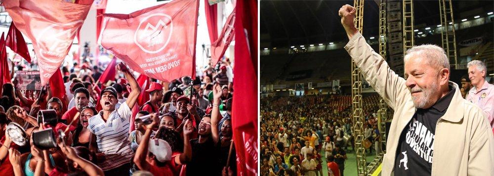 O PT de São Bernardo do Campo convocou a militância para um ato com a presença do ex-presidente Lula nesta sexta-feira 6, depois do julgamento do Supremo Tribunal Federal que negou, na noite desta quarta, o habeas corpus preventivo contra a prisão de Lula