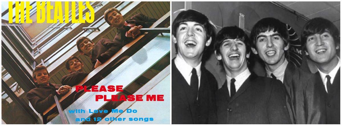 """Gravado em apenas um dia, """"Please Please Me"""" escancarou a Beatlemania, primeiro para o Reino Unido e, pouco depois, para o mundo; ao ouvi-lo, quase podemos ver as costeletas, topetes e o xadrez das hamburguerias. Nele, os Beatles traziam todas as suas influências, seus ídolos, os vocais e tudo o mais que explodiu na década anterior. Há em """"Please Please Me"""" um sabor extremamente ingênuo e juvenil que nunca mais se repetiu nos seus álbuns; por Julinho Bittencourt, na Revista Forum"""