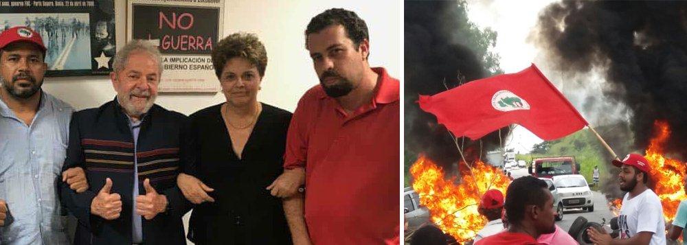 Para cumprir sua ordem ilegal de prisão, que fere o trânsito em julgado até mesmo na segunda instância, Sergio Moro terá que mandar furar o bloqueio de milhares de pessoas que cercam o Sindicato dos Metalúrgicos de São Paulo e protegem Lula, o melhor presidente da história do Brasil; segundo o senador Roberto Requião (MDB-PR), Moro agiu fora da lei e está a serviço de interesses internacionais; estradas foram bloqueadas em vários estados e Brasil pode estar à beira da guerra civil, graças à ação antinacional da Rede Globo e à irresponsabilidade da ministra Cármen Lúcia