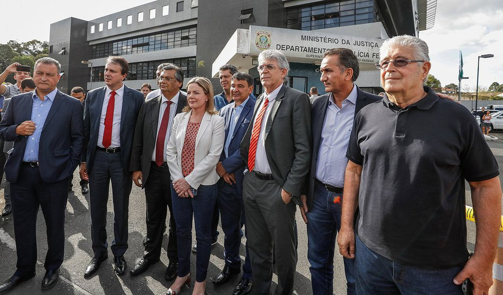 """Hoje e amanhã, as bancadas do PT, PSOL, PCdoB, PDT e PSB na Câmara dos Deputados farão obstrução """"geral e irrestrita"""" em protesto contra a afronta a governadores barrados na visita a Lula"""