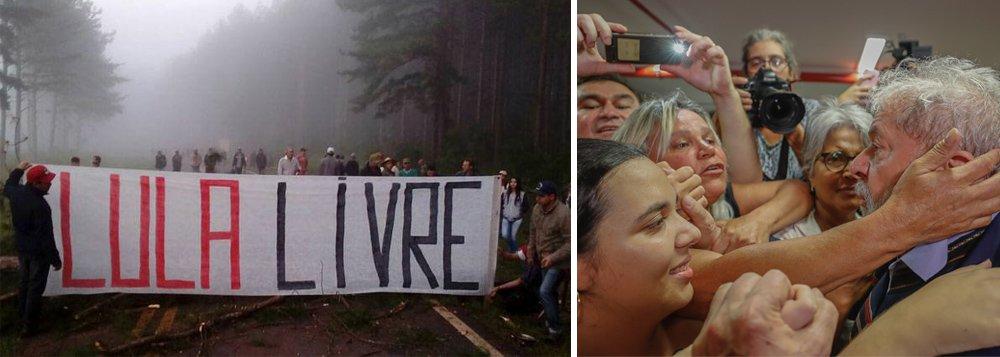 """""""Há milhões e milhões de pessoas reunidas em torno dos outros partidos de esquerda, dos movimentos sociais, da luta nas periferias, das mulheres, negros e negras, nas comunidades de base das igrejas, nas escolas universidades. Há o MST, o MTST, a UNE, uma míriade de entidades. Essas pessoas irão ocupar as ruas, marcharão a São Bernardo?"""", questiona o jornalista Mauro Lopes; """"Se a resposta às três perguntas for sim, então, nesta hora decisiva, é preciso montar barricadas ao redor do Sindicato em São Bernardo do Campo. Ir pra cima - como se diz. E contar com uma virada, com a manutenção da liberdade de Lula e um rearranjo fenomenal na correlação de forças que obrigue o STF a recuar e deixe Moro a ver navios"""""""