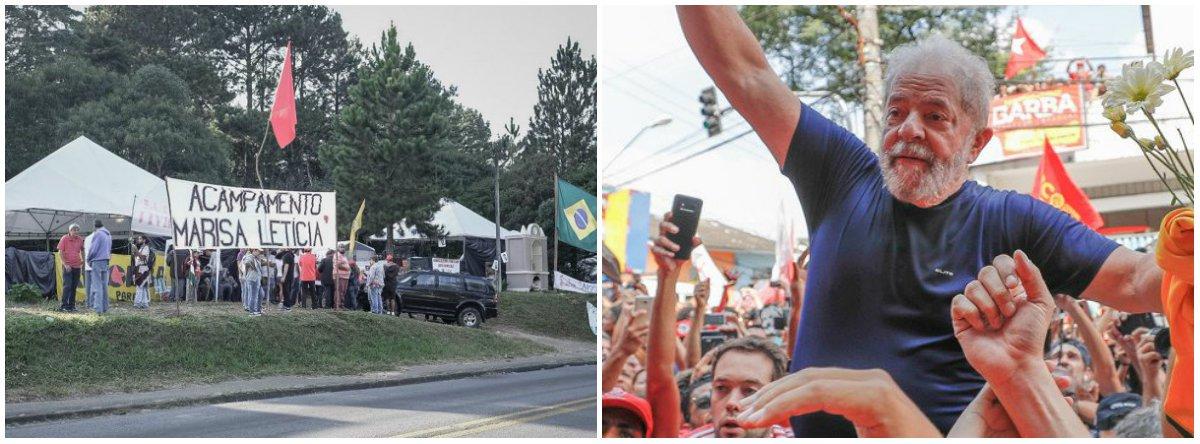 """Pela primeira vez desde a redemocratização do país, as sete maiores centrais sindicais brasileiras farão, este ano, um 1º de Maio unificado; o ato de Curitiba terá como mote """"Em Defesa dos Direitos e por Lula Livre""""; o que unificou CUT, Força Sindical, CTB, NCST, UGT, CSB e Intersindical foi a defesa da liberdade do ex-presidente Lula, preso na sede da Superintendência da PF de Curitiba há 20 dias"""