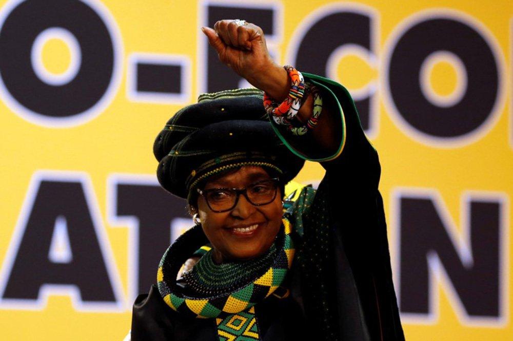 Winnie Madikizela Mandela, que morreu aos 81 anos 16/12/2017 REUTERS/Siphiwe Sibeko