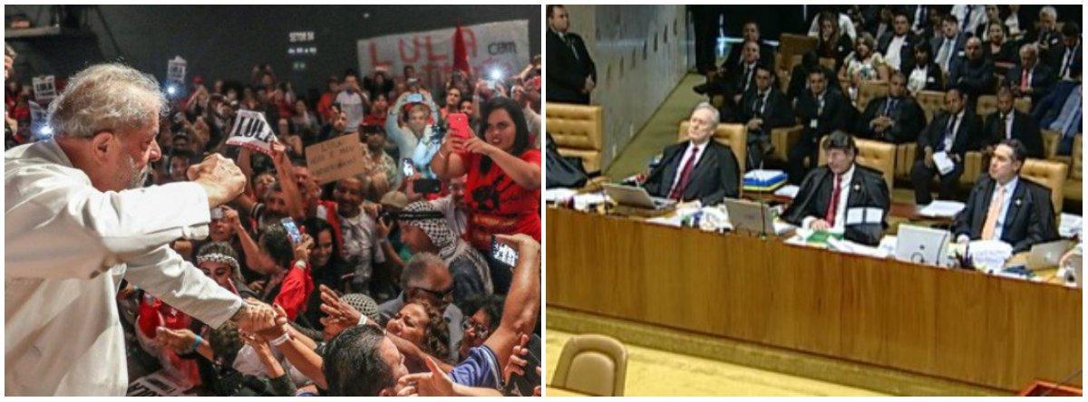 """""""O STF será o Judas da mídia durante a Semana Santa. A Globonews já escalou sua linha de ataque completa e aumentou a duração dos seus jornais. O que é básico – ninguém pode ser preso em meio a um julgamento que foi suspenso em meio à votação – virou um absurdo"""", diz Fernando Brito, do Tijolaço; """"O TRF-4, corneta de Sérgio Moro, vai dizer que sim, embora com uma ressalva de que se deve respeitar a espera até o dia 4 de abril. O habeas corpus preventivo vai virar um habeas corpus efetivo, contra uma ordem de prisão"""""""