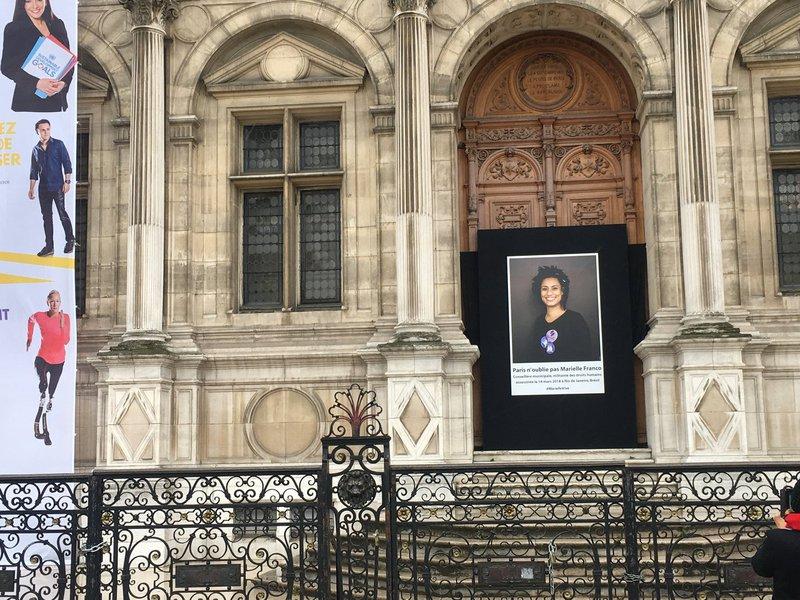 Atividades em Paris homenageiam a vereadora e ativista da luta pelos direitos humanos, Marielle Franco, brutalmente assassinada em 14 de março