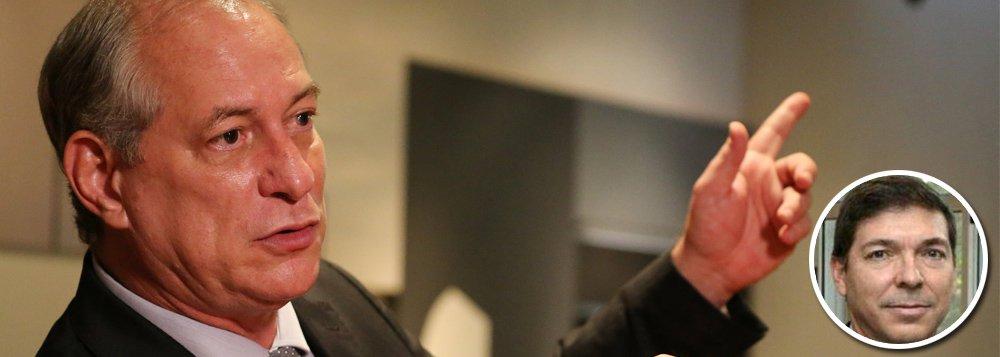 """Candidato à presidência da República pelo PDT, Ciro Gomes disse que pretende ter como vice um empresário do Sudeste e afirmou que a prioridade é Josué Alencar Gomes da Silva, que o ex-presidente Luiz Inácio Lula da Silva também tentava ter em sua chapa. """"Eu já disse a ele: se quiser, é dele"""", afirmou. Ciro também negou uma eventual a aliança com o PT e disse que Lula está inelegível, embora essa decisão ainda não tenha sido tomada pela Justiça Eleitoral. """"Seu principal líder preso e eles constrangidos a uma solidariedade que ainda afirma a candidatura do Lula, mesmo preso e inelegível. Olho com respeito o tempo do PT, mas toco minha bandinha"""", disse Ciro, que sinalizou apoio à prisão em segunda instância"""