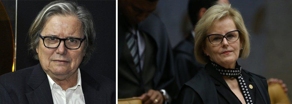 """O jornalista Paulo Moreira Leite disse estar indignado com a ministra Rosa Weber, que mudou de posição no momento do voto que negou o habeas corpus do ex-presidente Lula; """"Faltou enfrentar com franqueza o debate, ela apenas seguiu os seus colegas, teve vergonha do seu voto, não teve coragem de assumir sua opinião"""", avalia, durante o Boa Noite 247 desta quarta-feira 4; assista"""