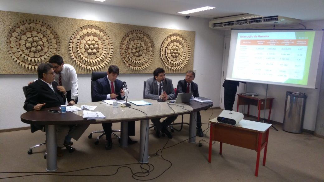 O Piauí fechou 2017 cumprindo todas as obrigações constitucionais; o Estado investiu 12,45% do orçamento com saúde e 26,44% com educação; os dois índices estão acima do limite mínimo estabelecido pela Constituição, que são de 12% e 25%, respectivamente; a preocupação do governo é com o gasto de pessoal, já que o Executivo estadual continua acima do limite prudencial de 46,55%, fechando o ano com 47,74%